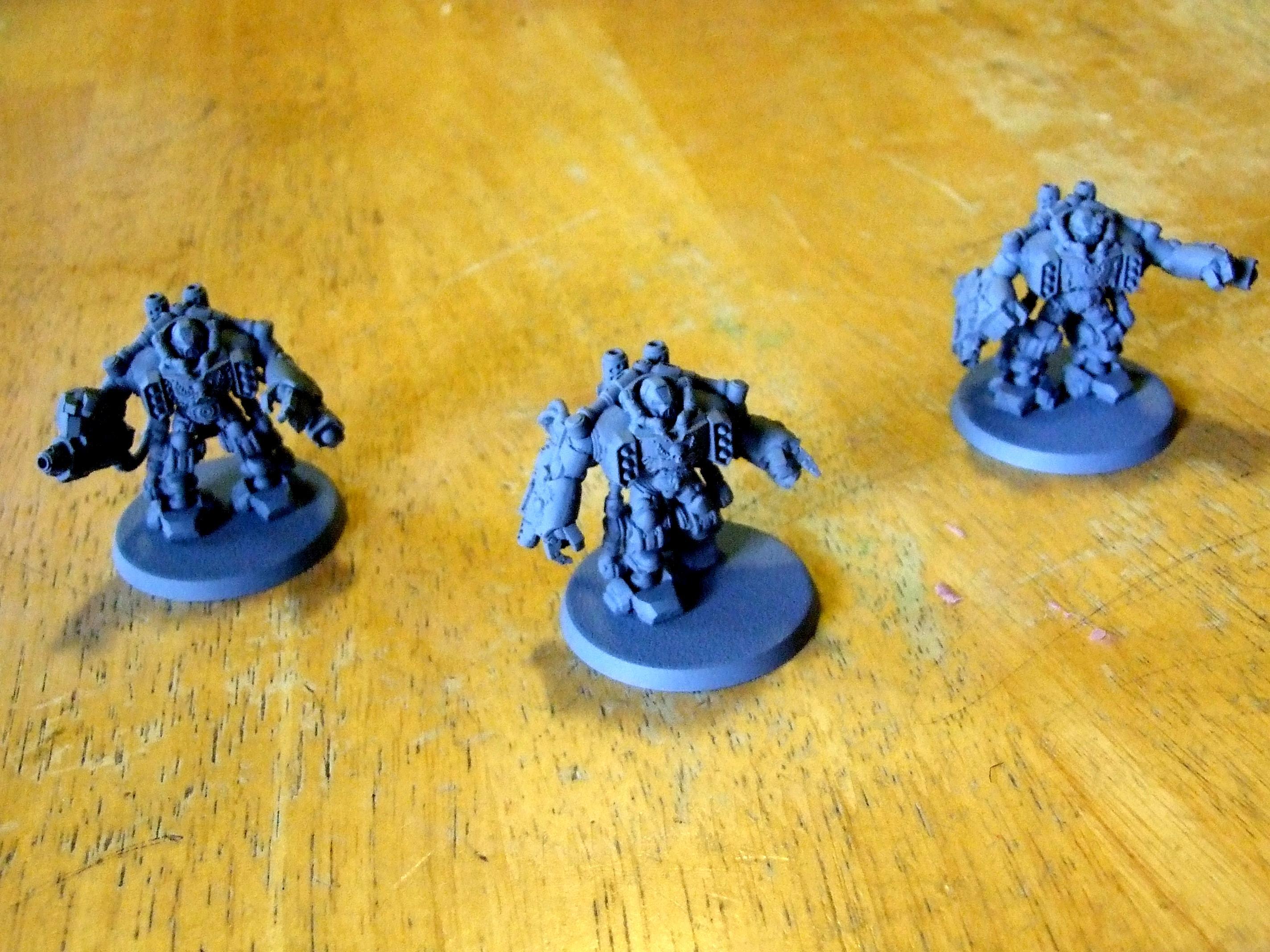 Bare-Bones Space Marine Centurions