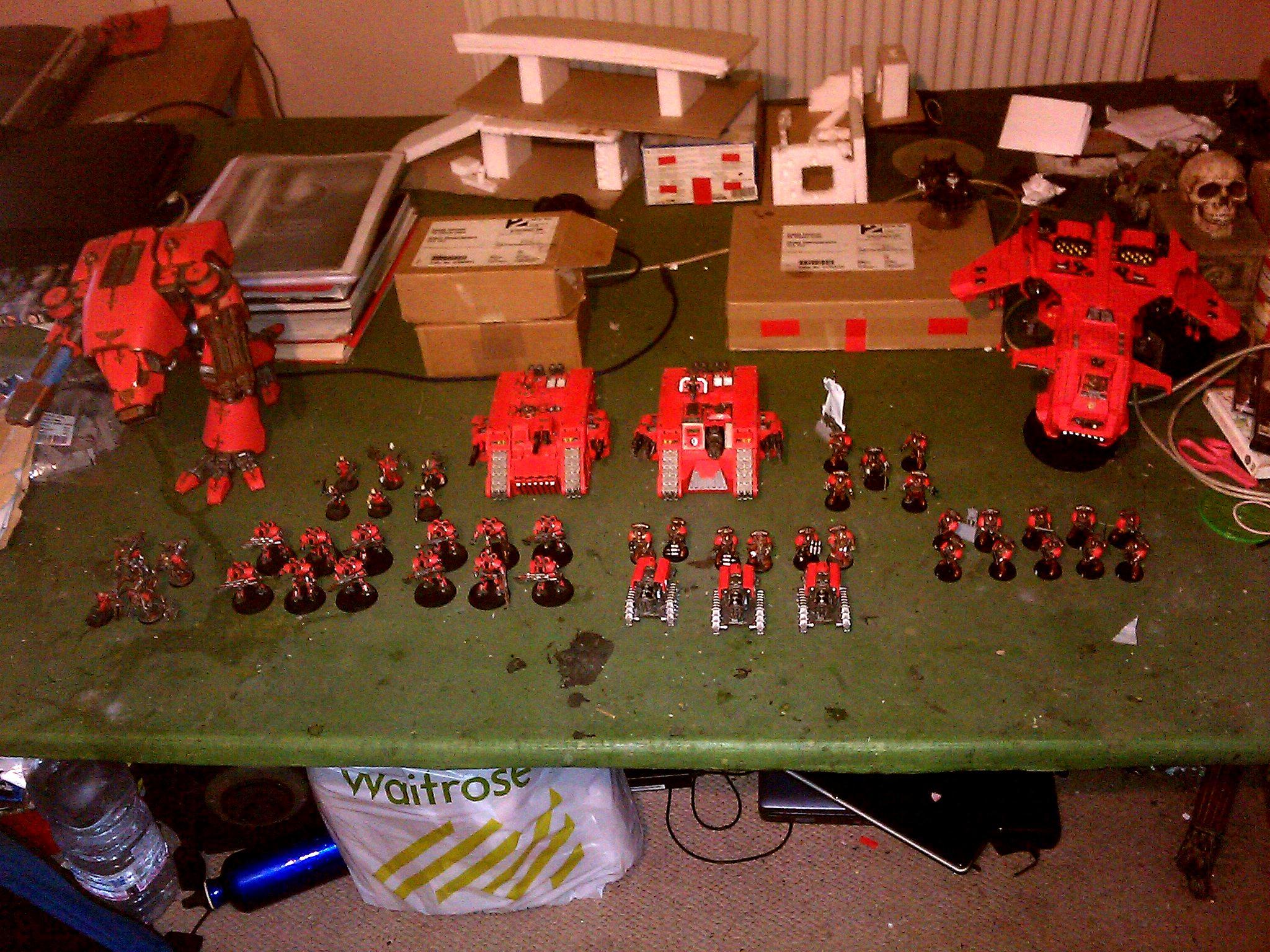 30k, Caleb Decima, Mechanicum, Mechanicum Army, Thallax