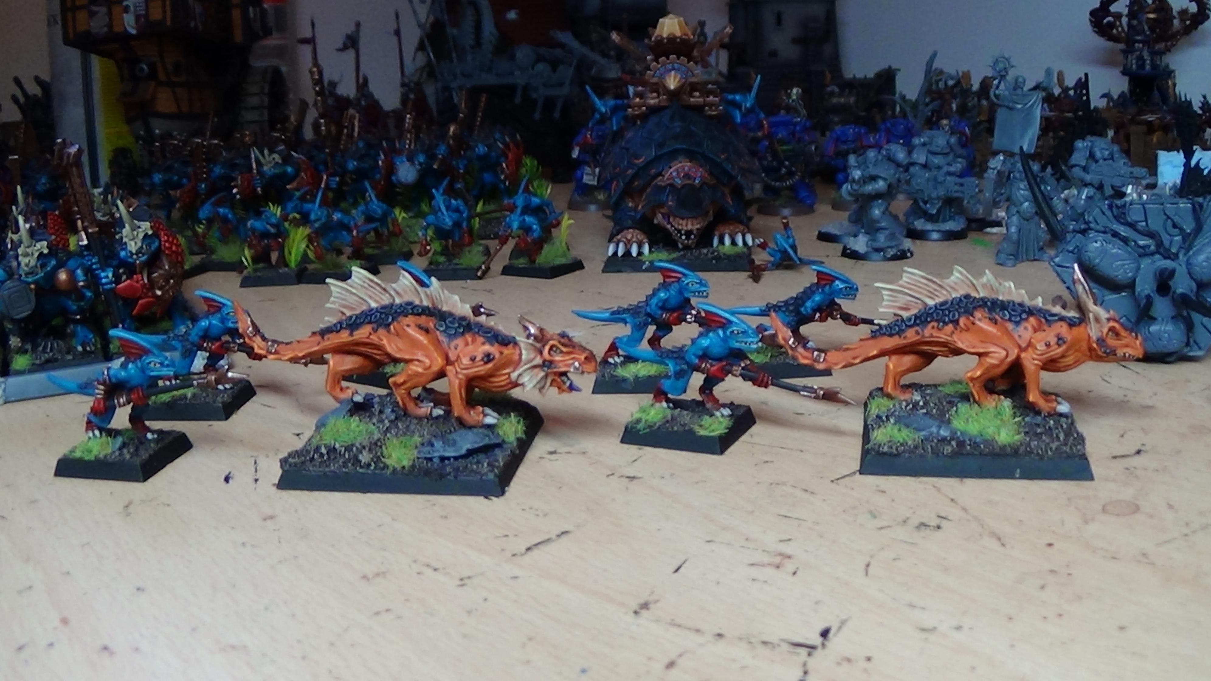 Lizardmen, Salamanders, Skinks, Warhammer Fantasy