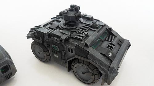 Armored Car, Jeep, Scout Car, Warpath