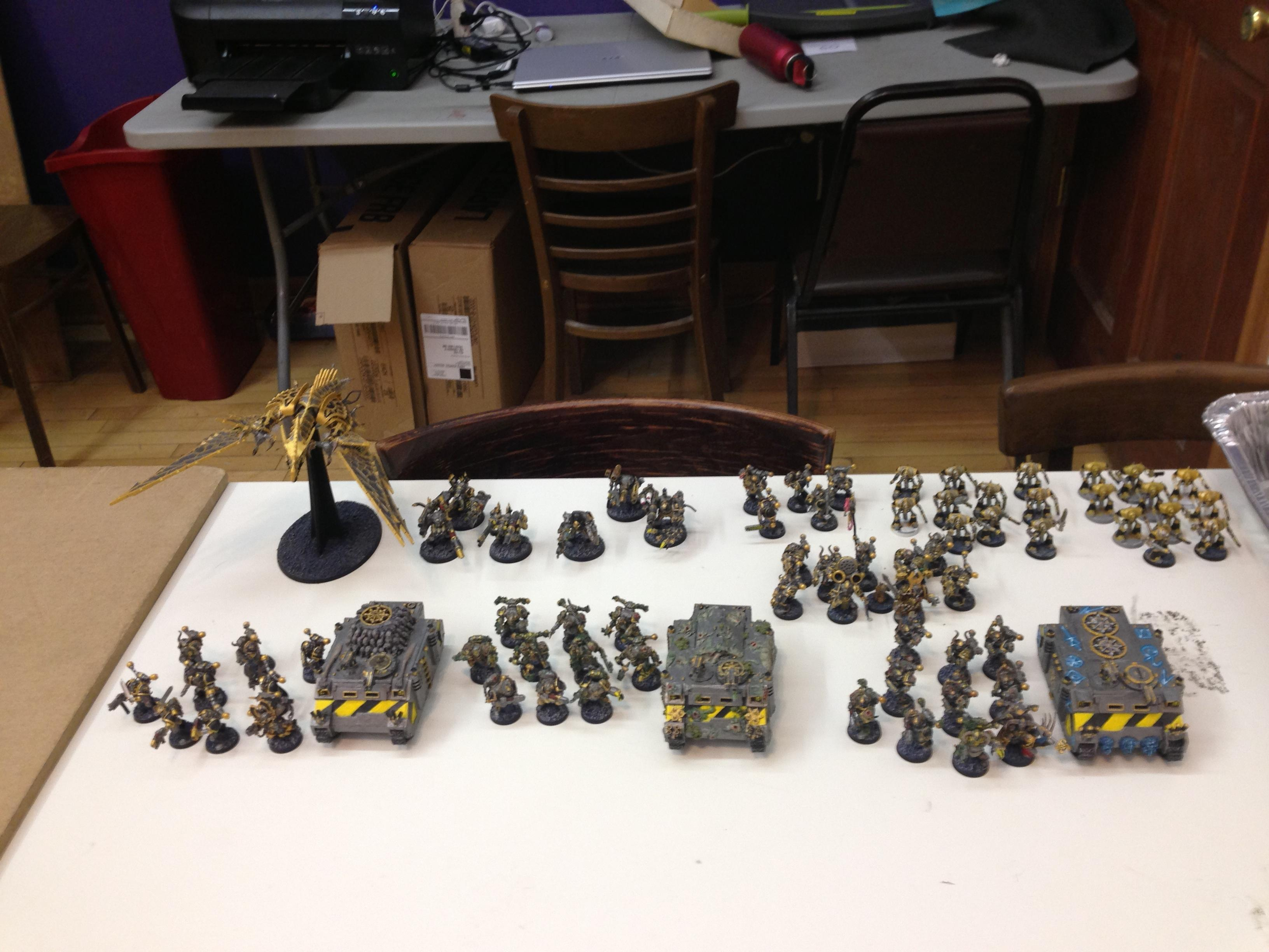 Chaos, Chaos Lord, Chaos Space Marines, Heldrake, Iron Warriors, Kharn, Noise Marines, Obliterators, Plague Marines, Rhinos