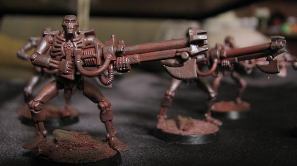 Necron Warriors, Necrons, Rust