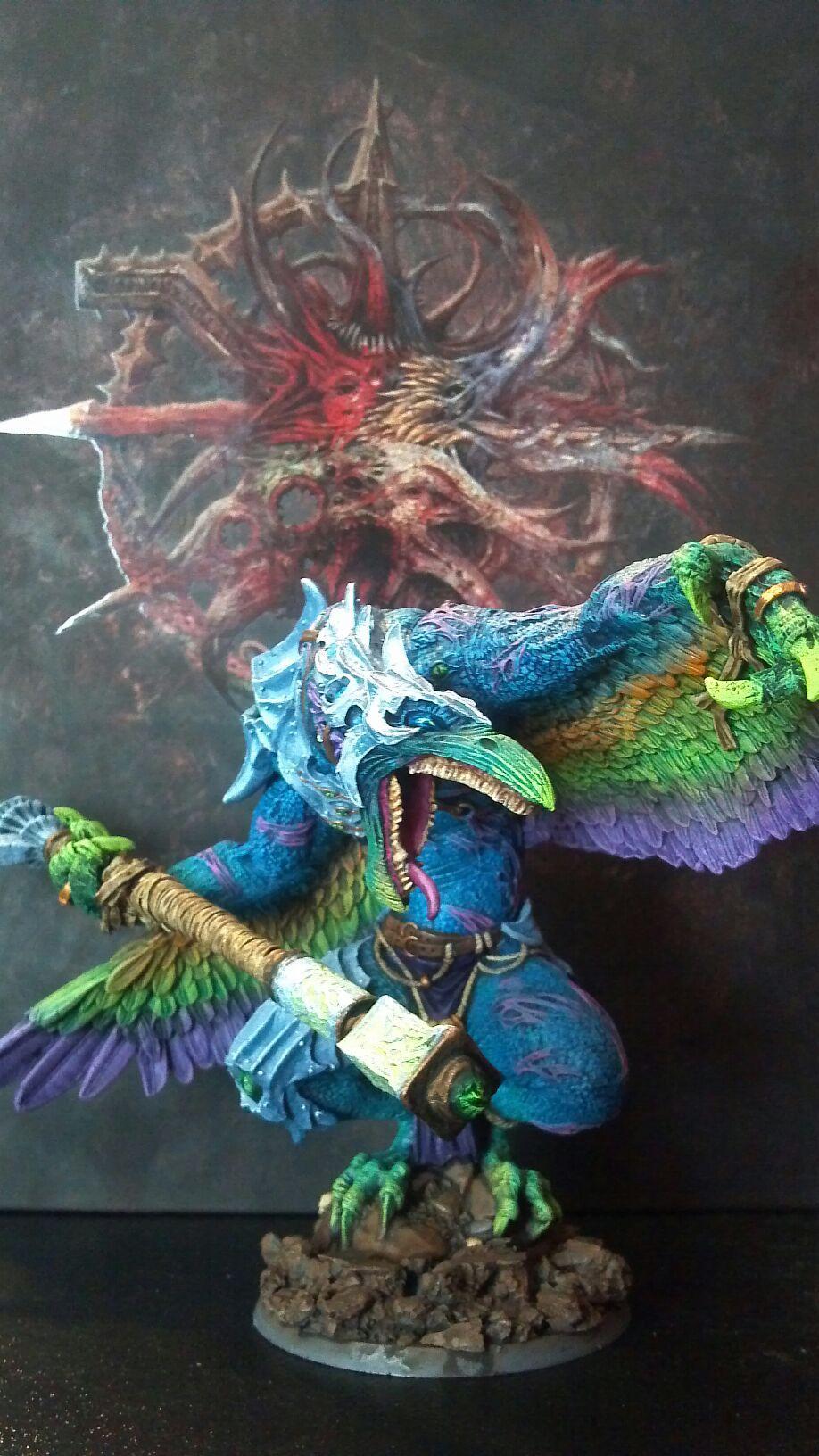 Bird, Daemons, Lord Of Change, Tzeench, Vrock, Warhammer 40,000