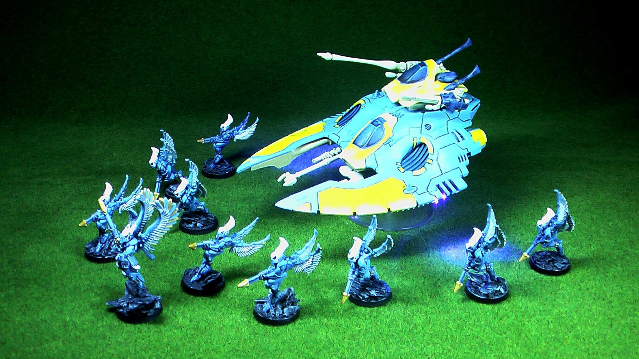 Eldar Falcon and Swooping Hawks