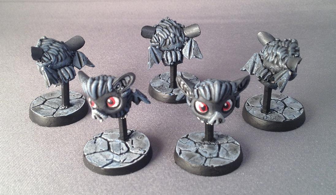 Bats, Chibi, Chibi Dungeon Bats