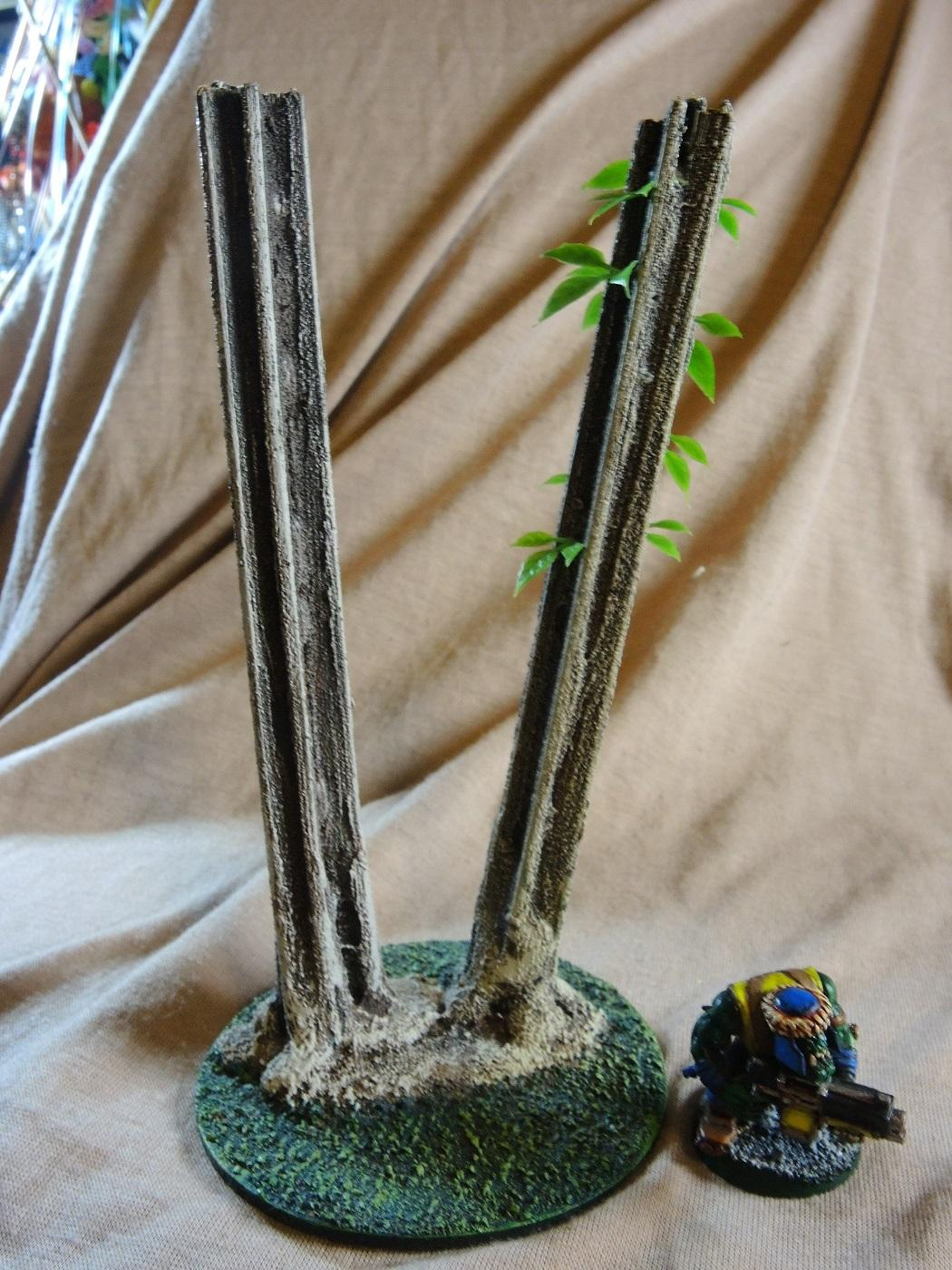 Hotglue Is Your Friend, Jungle, Scratch Build, Step-by-step, Straws Too, Terrain, Waaazag, Work In Progress