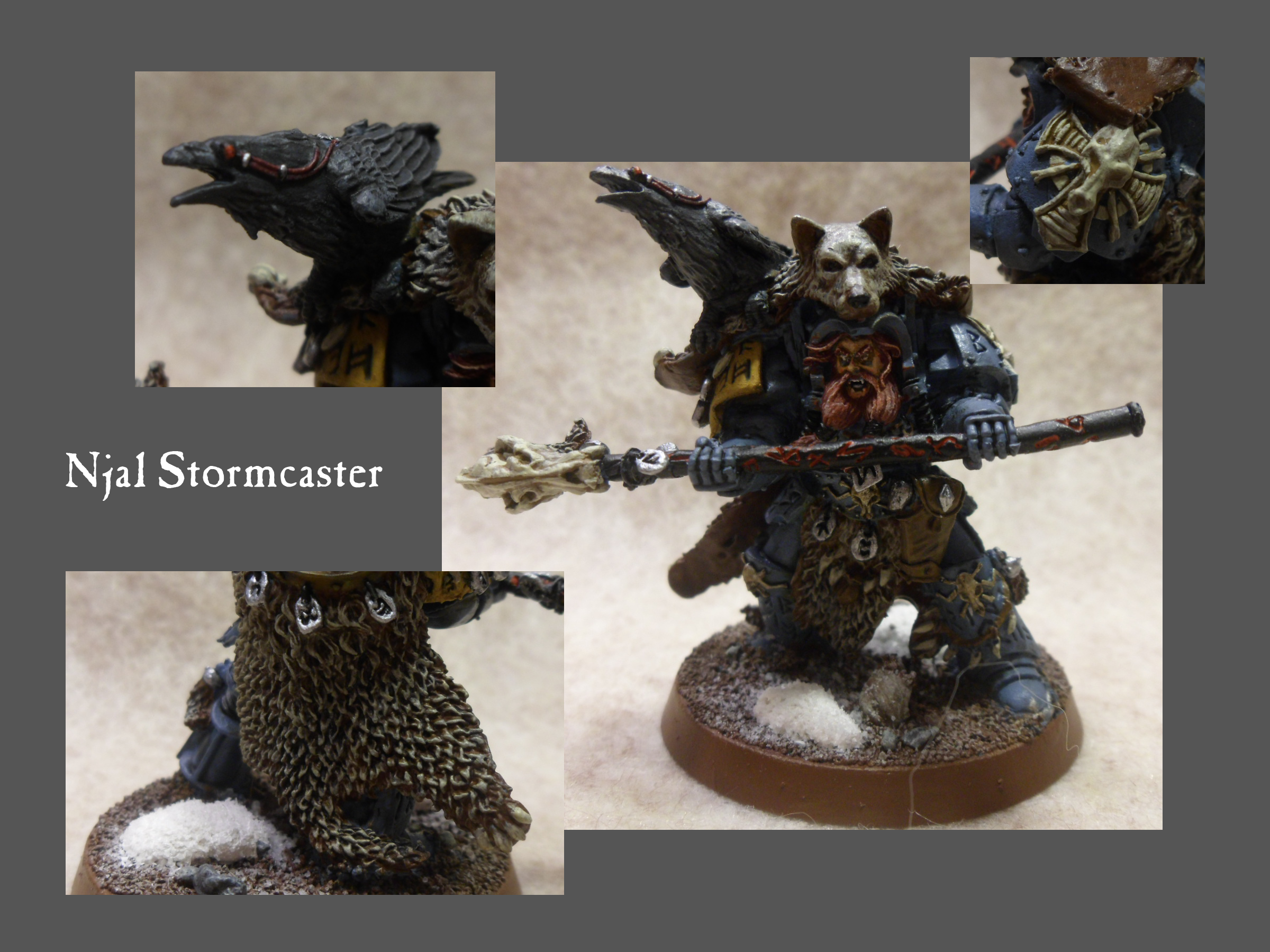Headquarters, Njal, Snow, Space Wolves
