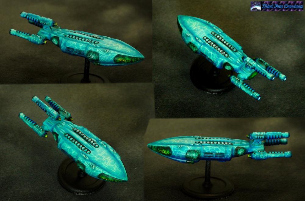 Airbrush, Aquatic, Khurasan Miniatures, Ripple, Ship, Whale
