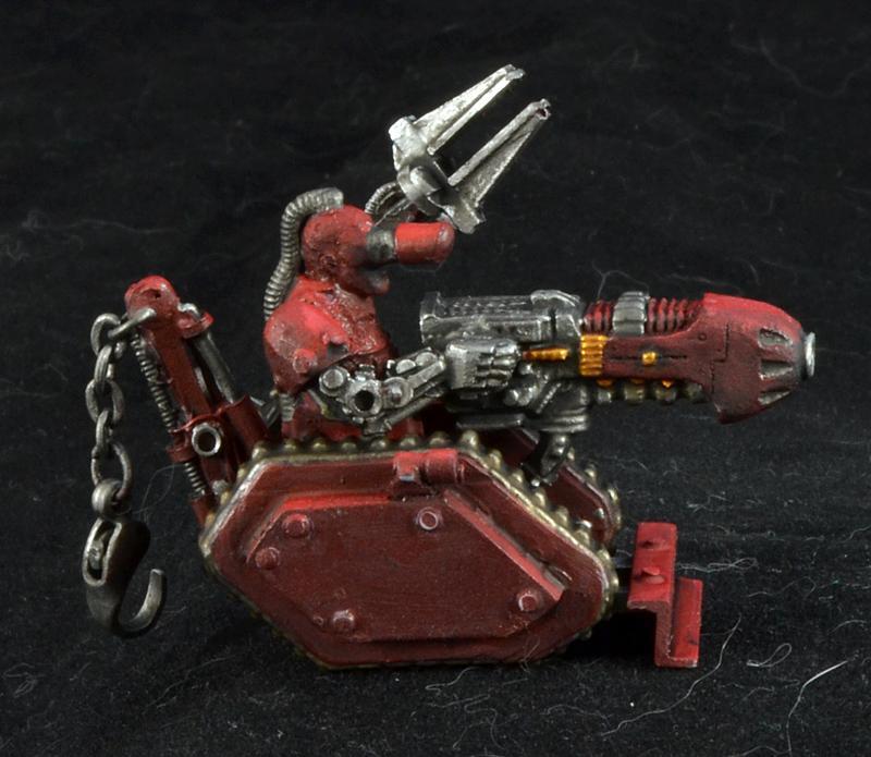 Servitors, Space Marines, Warhammer 40,000, Work In Progress