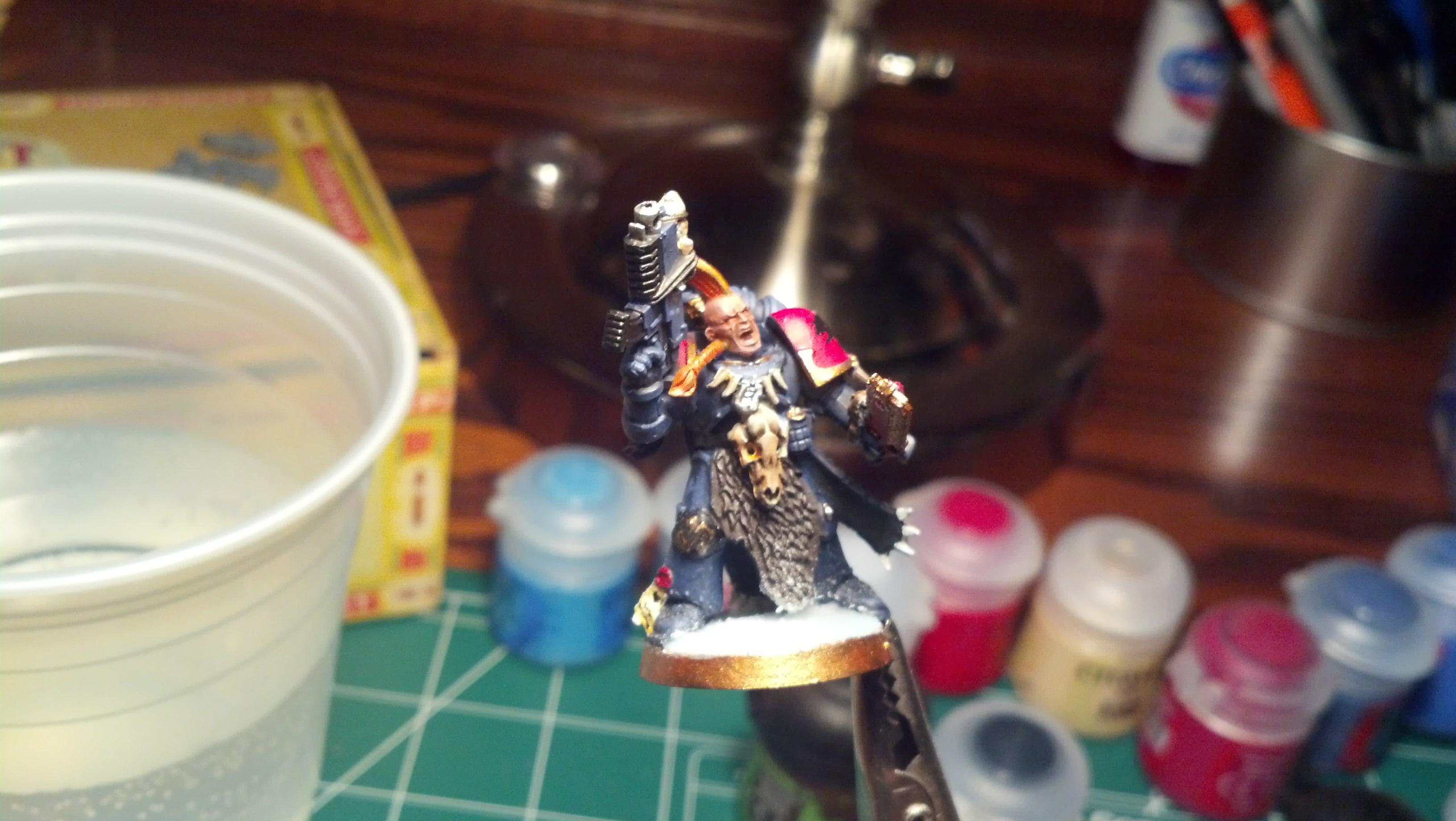 First Model, Grey Hunter, Space Marines, Space Wolves, Warhammer 40,000