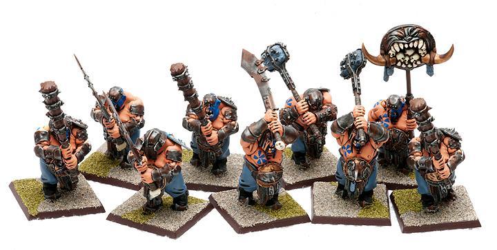 Ironguts, Ogre Kingdoms, Ogres, Warhammer Fantasy