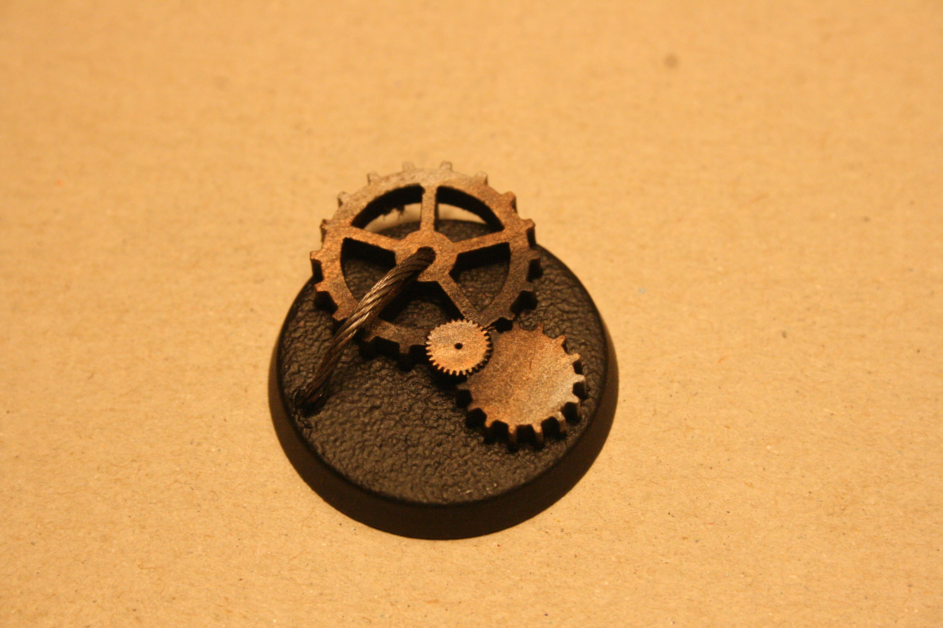 Base, Conversion, Gearwheel, Iron Hands