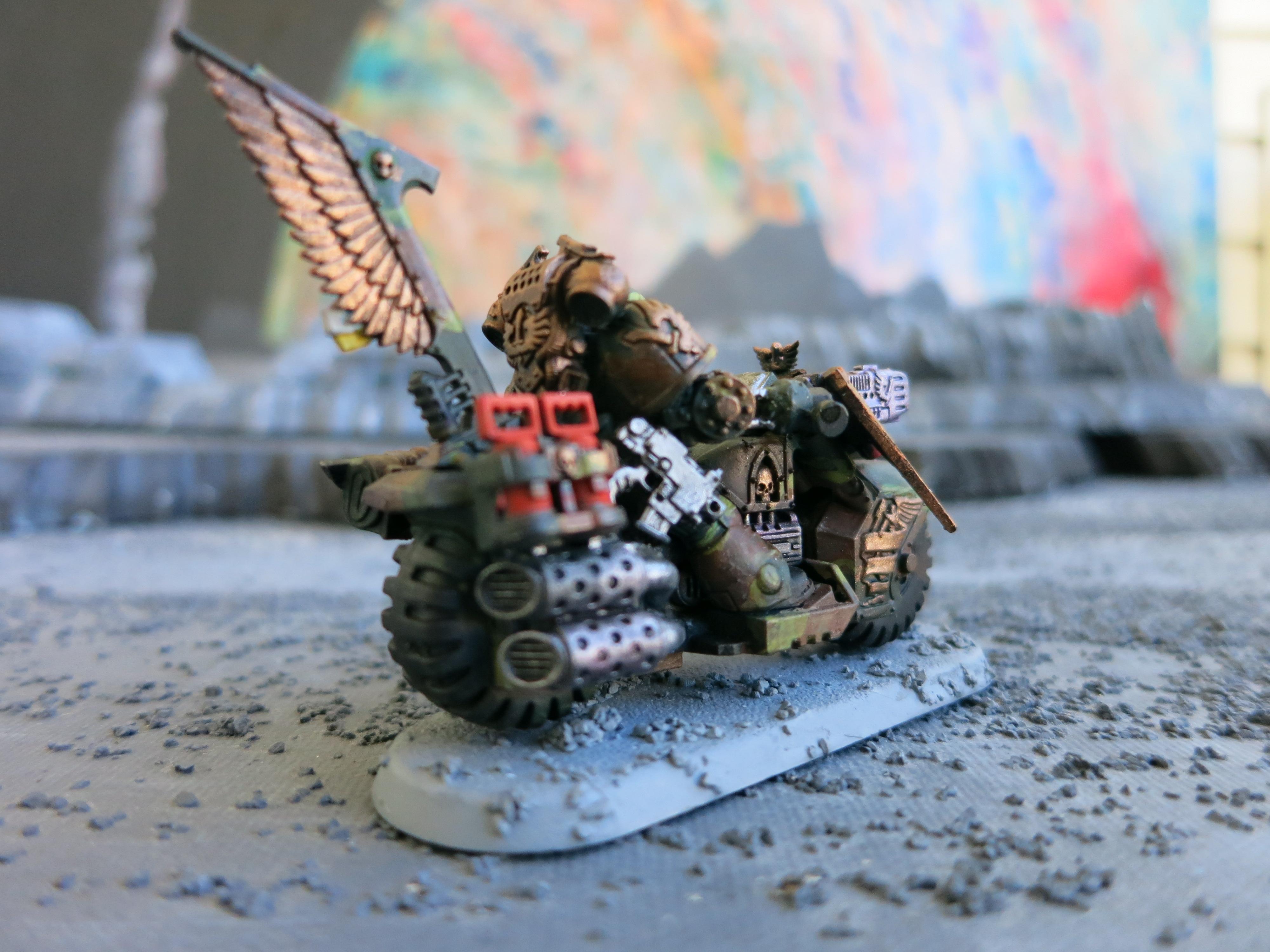 Bike Sergeant, Camouflage, Ravenwing Command Squad