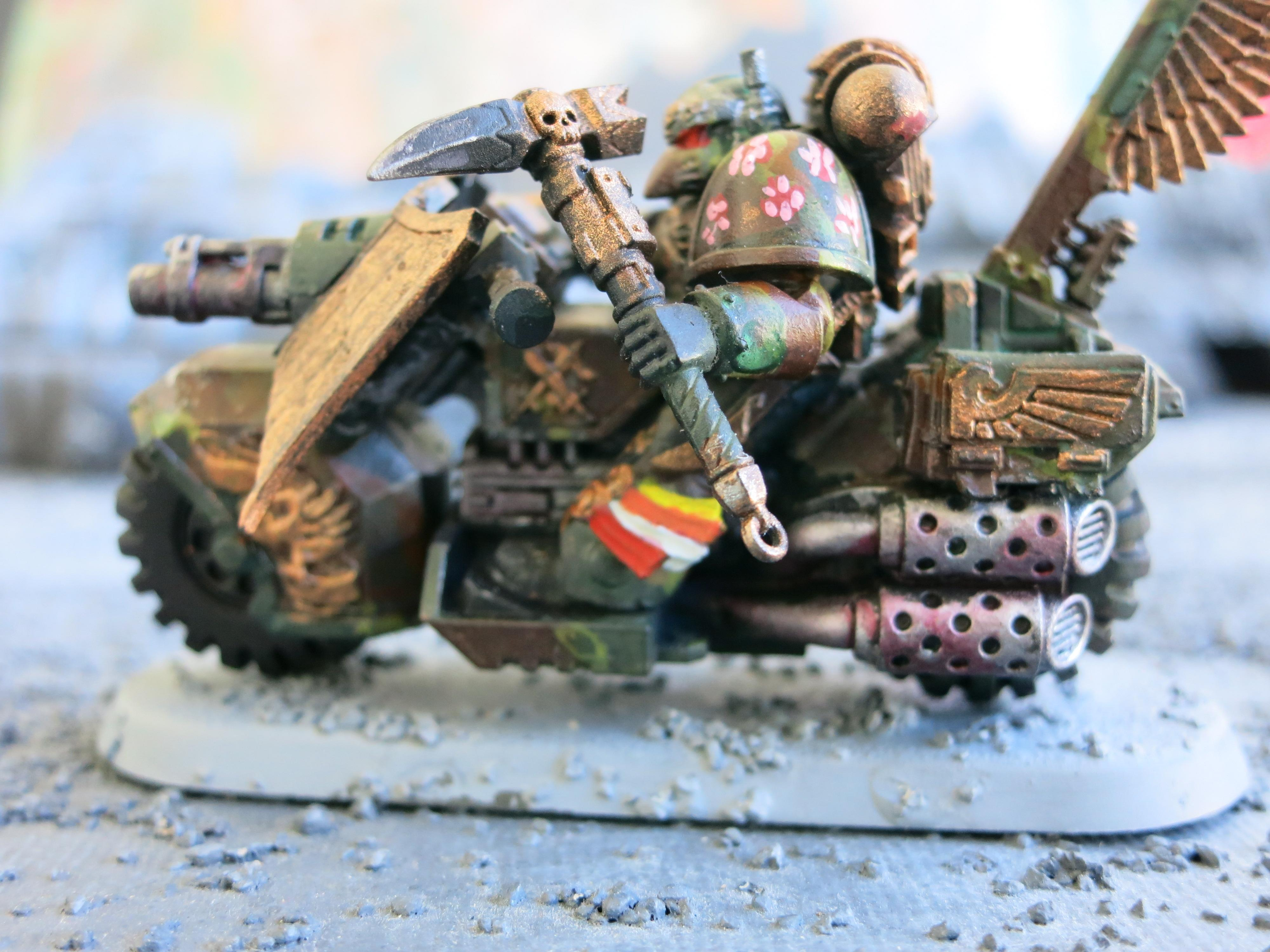 Black Knight, Camouflage, Grenadier, Ravenwing Command Squad