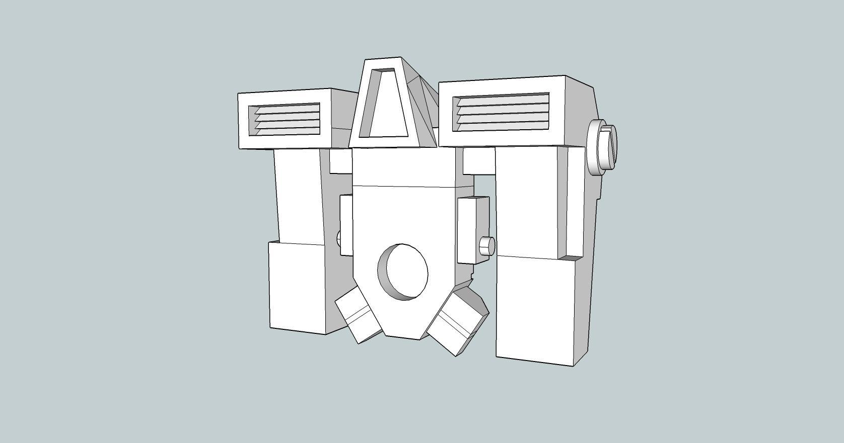 3D Tau & Space Marine Jump Pack