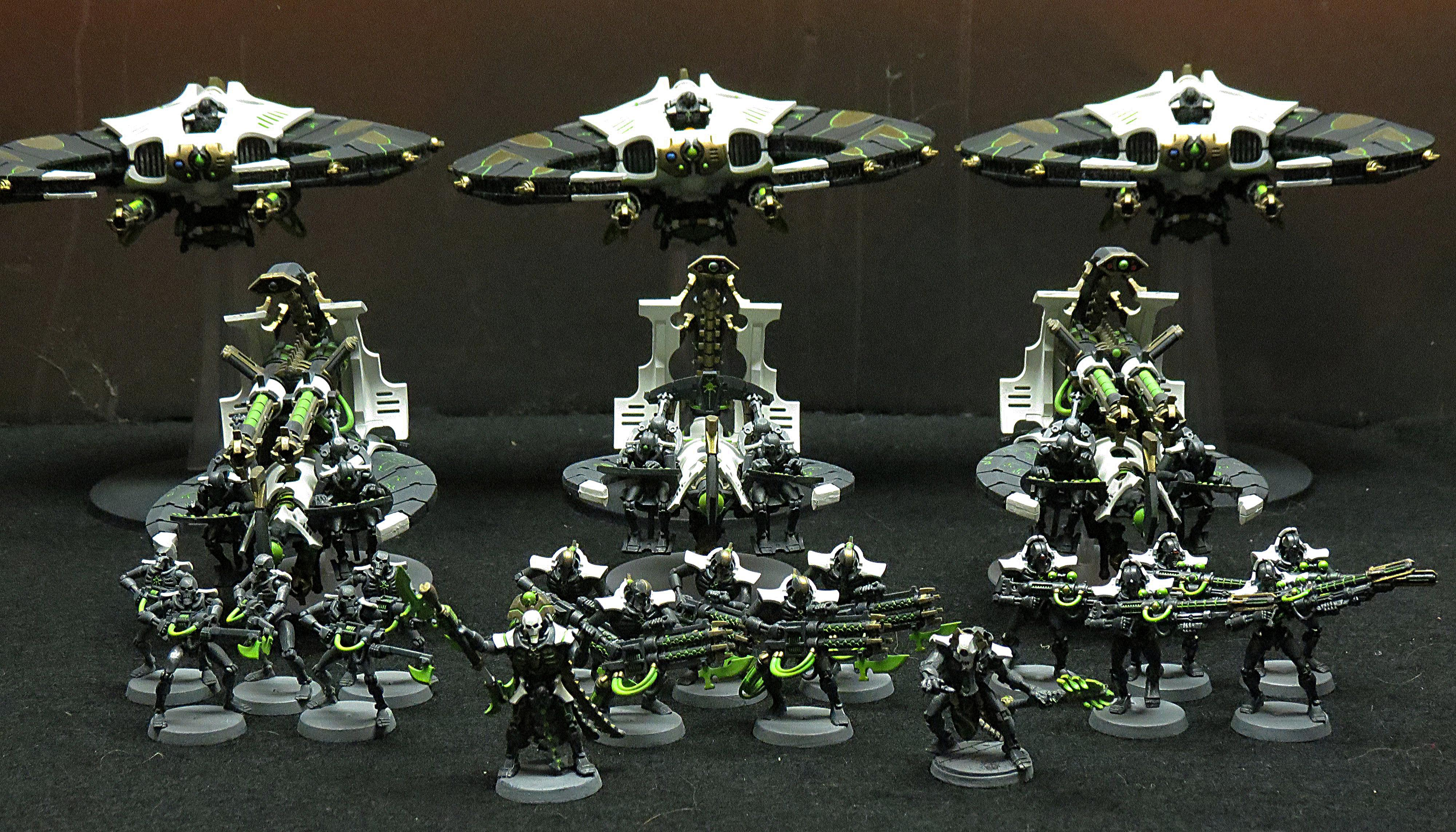 Necrons, Necrons AC Finished 4
