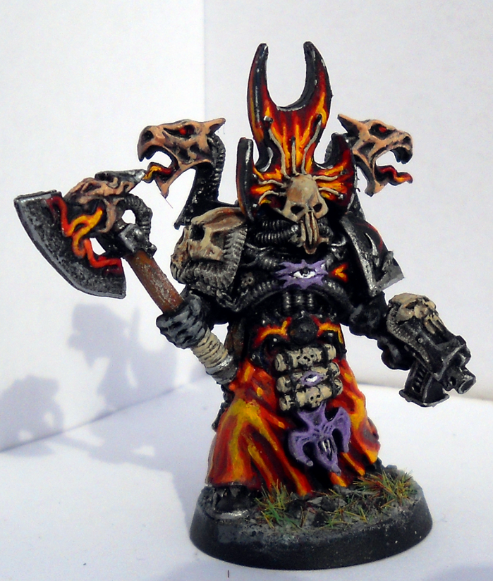 Bolt Pistol, Chaos Space Marines, Force Weapon, Sorcerer, Warhammer 40,000