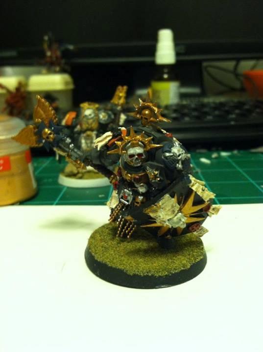 Chaplain, Storm Shield, Terminator Armor