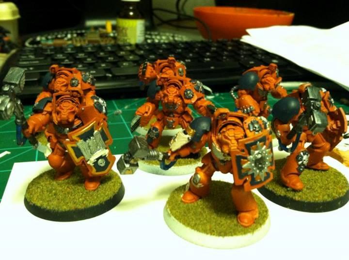 Assault terminator squad