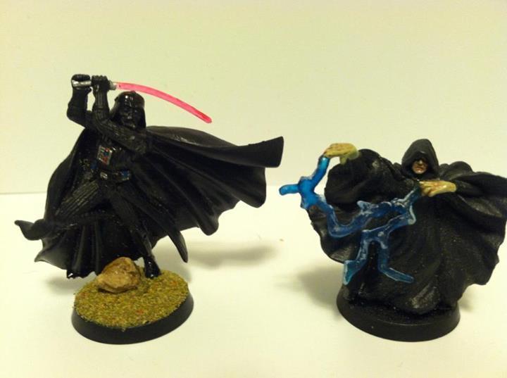 Darth Vader, Emperor, Grey Knights, Star Wars, Tau