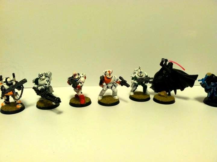 Clone Wars, Conversion, Darth Vader, Republic Commandos, Star Wars, Tau