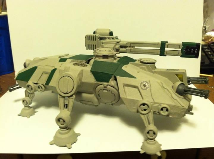At-te, Clone Wars, Conversion, Republic Commandos, Star Wars, Tau