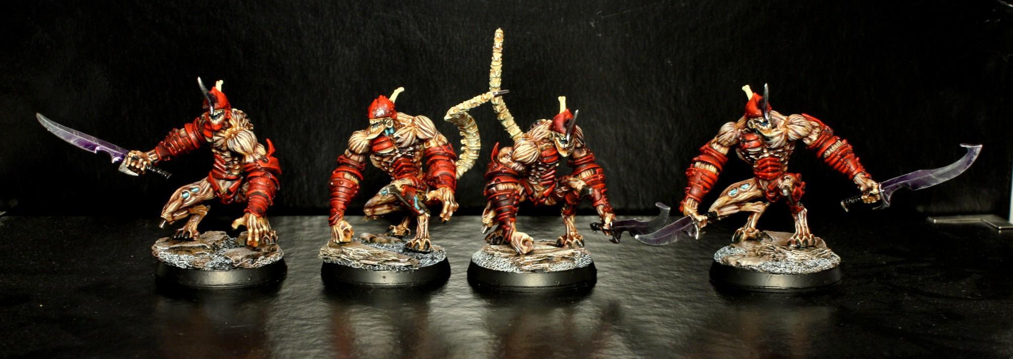 Clone, Confrontation, Dark, Eldar, Grotesque, Key, Nemesis, Red
