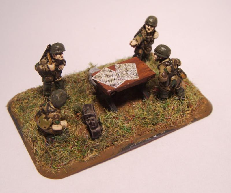 Artillery, Fallschrimjager, Flames Of War, Headquarters
