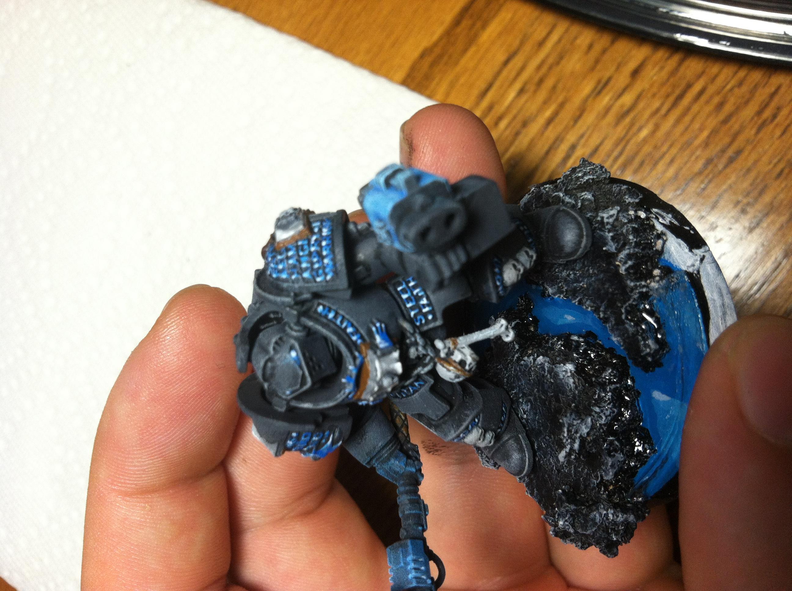 Gk, Grey Knights, Terminator Armor, Work In Progress