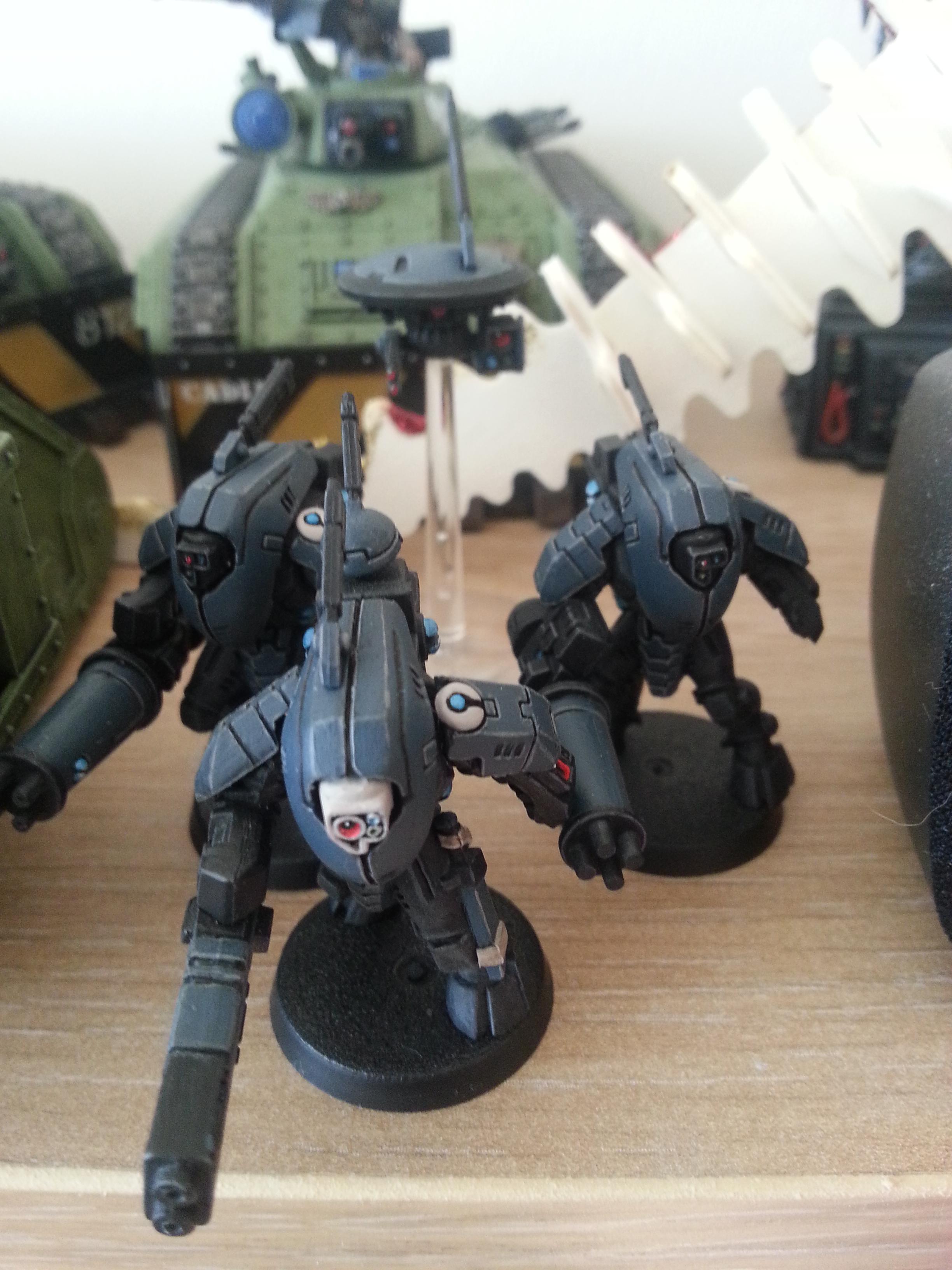 Devilfish, Drones, Pathfinders, Stealth Team, Tau