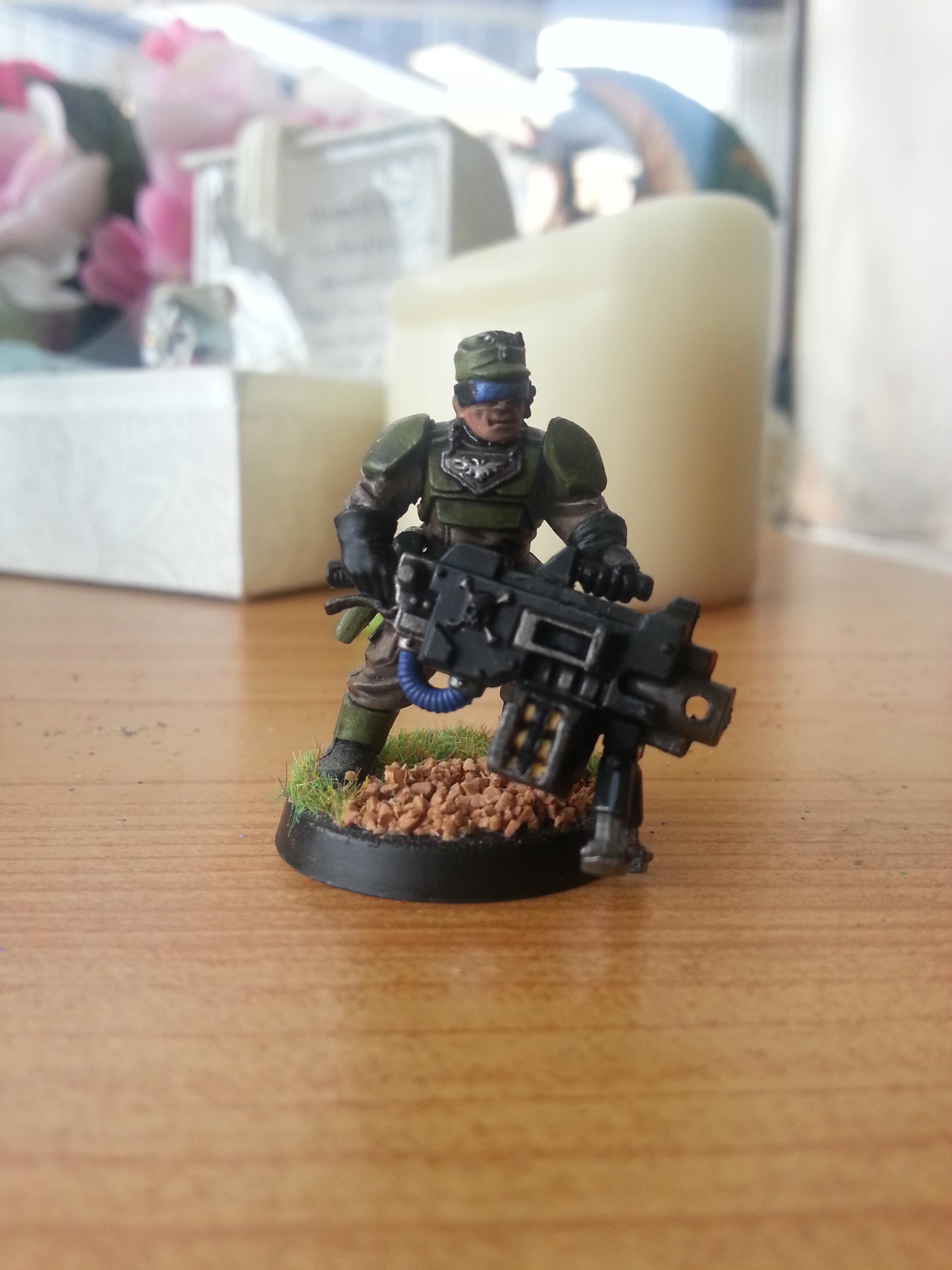 Astra Militarum, Gunnery Sergeant Harker, Imperial Guard