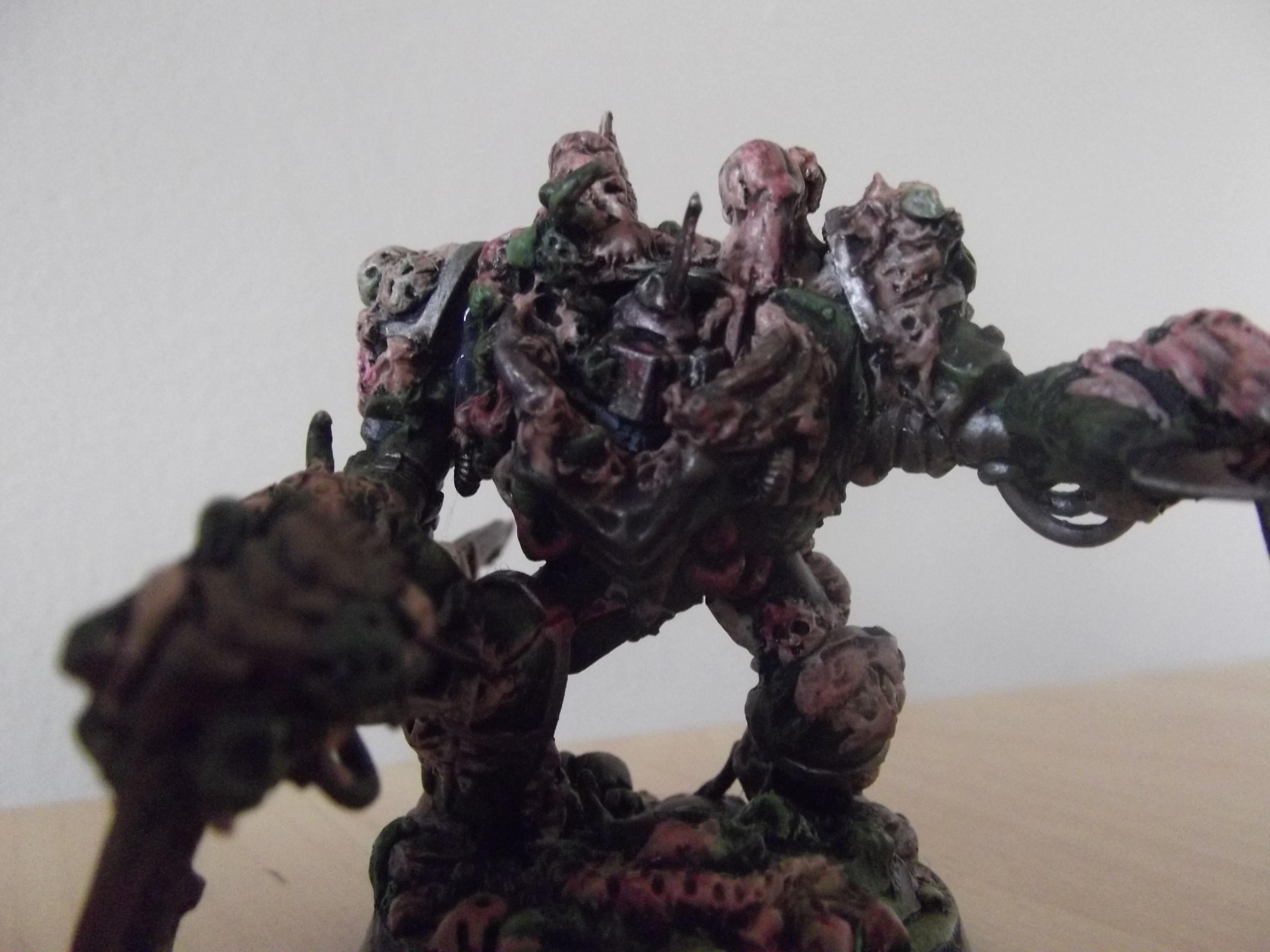 Chaos, Nurgle, Scratch Build, Sculpted, Typhus, Warhammer 40,000, Warhammer Fantasy, Zombie