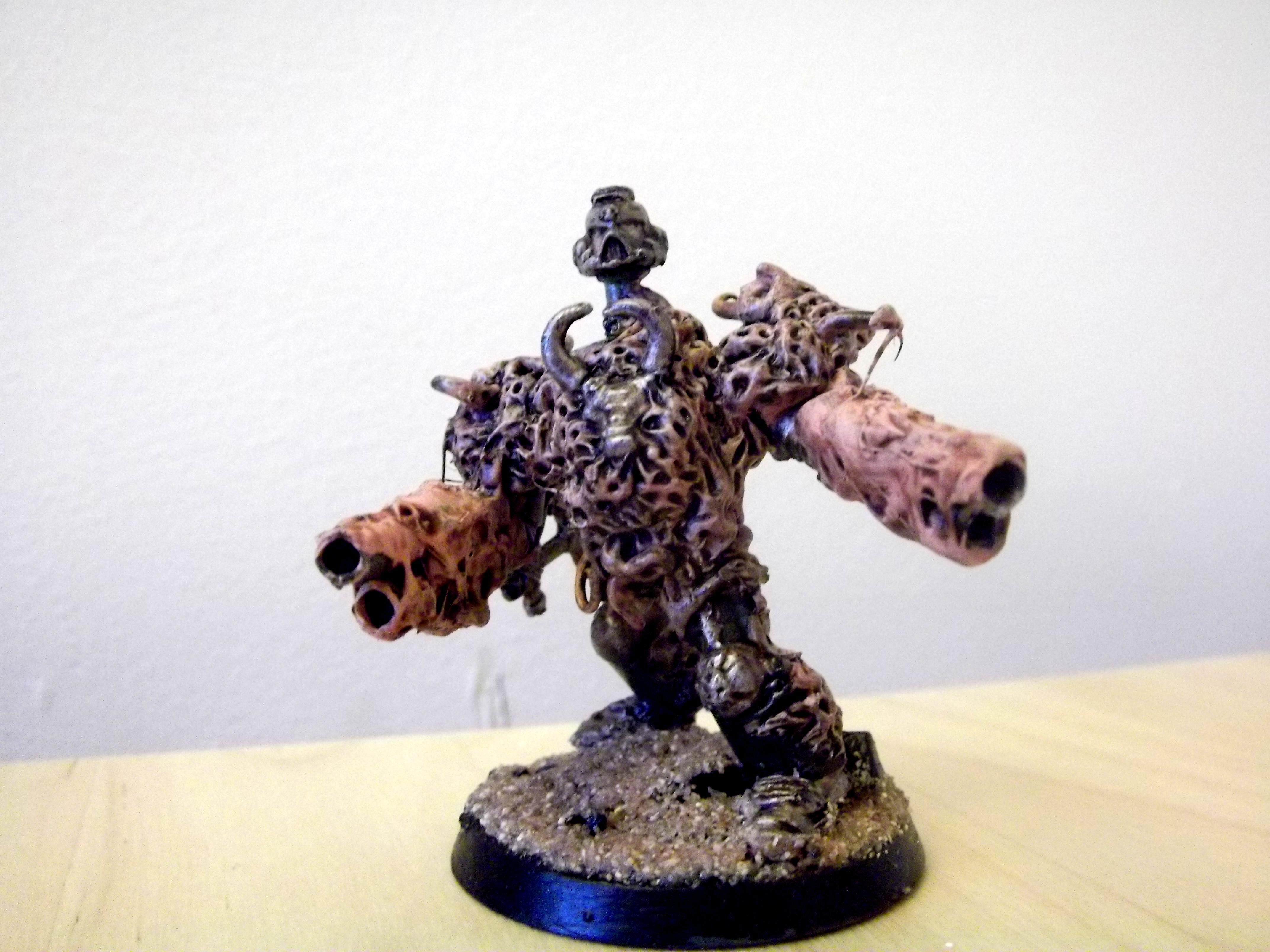 Conversion, Greenstuff, Nurgle, Obliterators, Sculpting, Undead, Warhammer 40,000, Warhammer Fantasy, Zombie