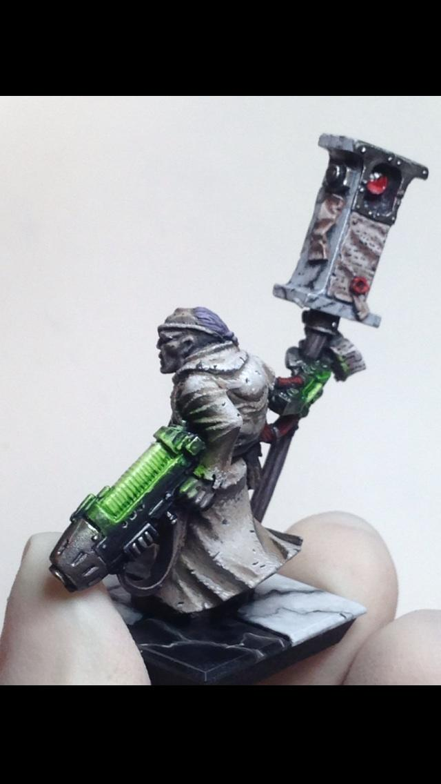 Imperial Guard, Inquisition, Marble, Missionary, Object Source Lighting, Wet Blending