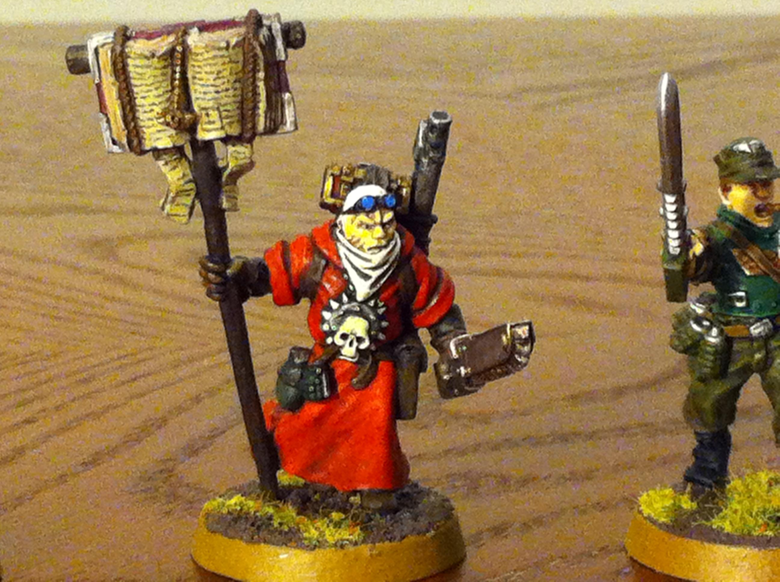 2nd Edition, Imperial Guard, Missionary, Priest