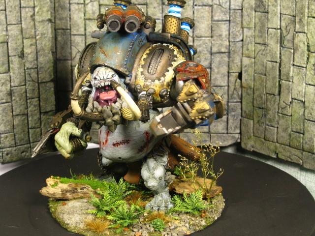 Colossal, Gargantuan, Hordes, Warmachine