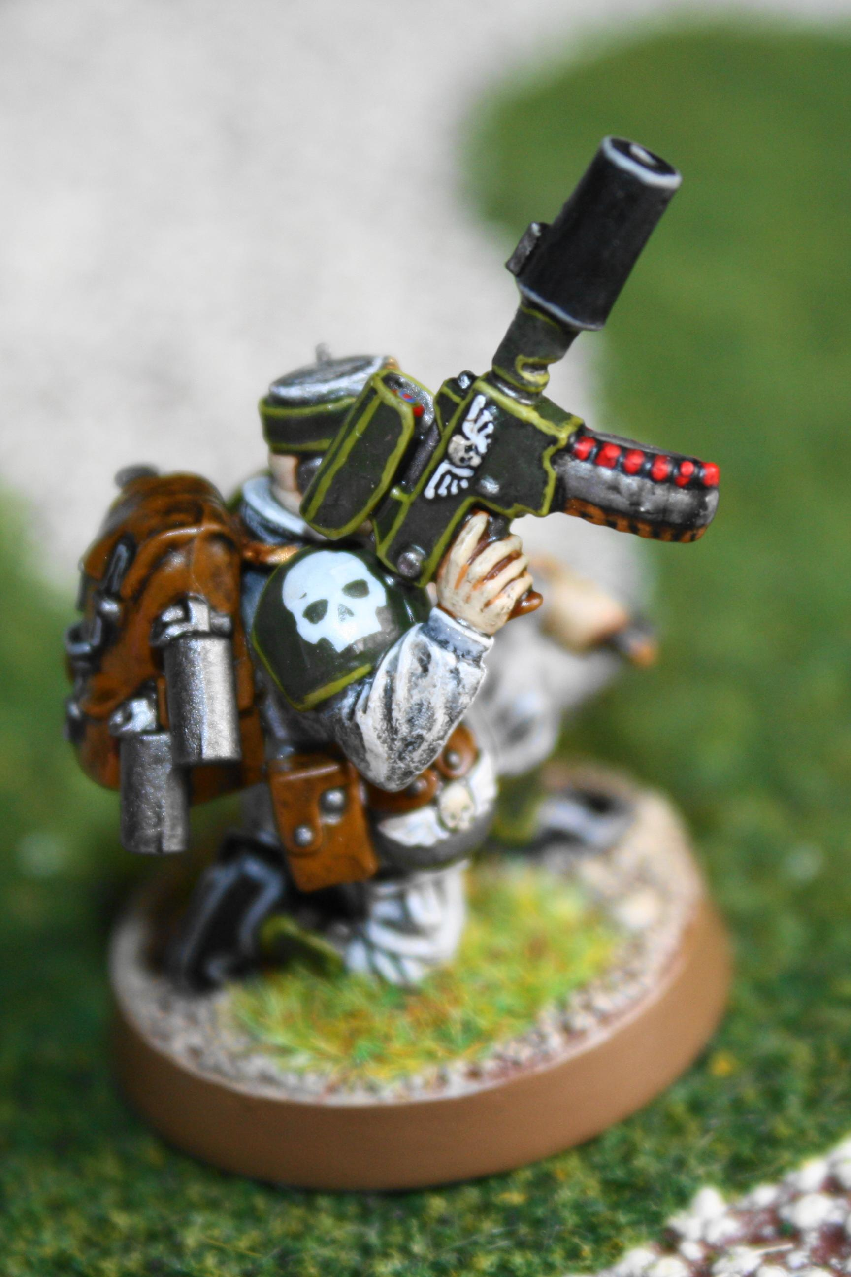 Imperial Guard, Officer, Pistol Conversion