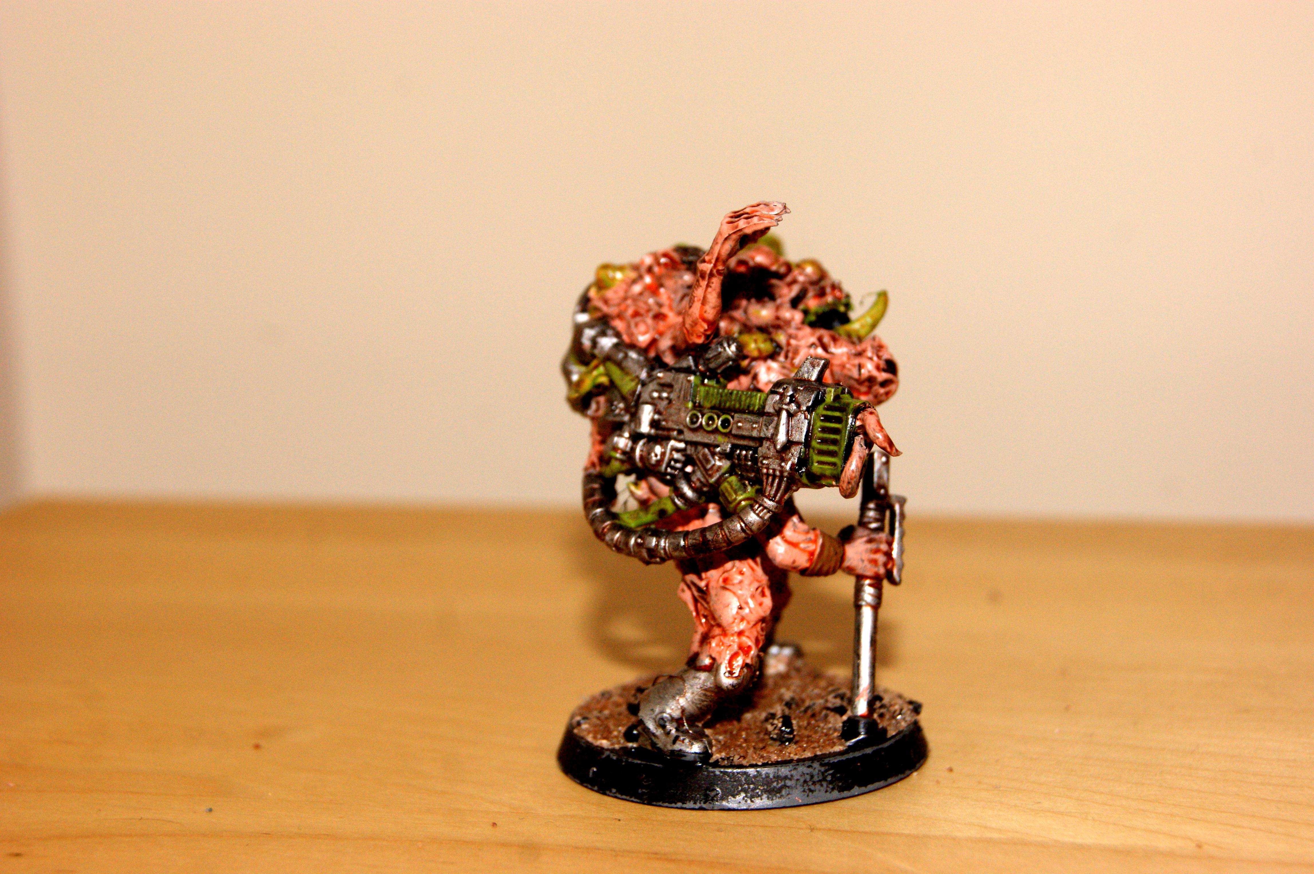 Chaos, Chaos Spawn, Conversion, Nurgle, Scratch Build, Sculpted, Zombie