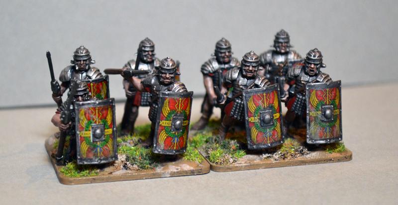 Gaul, Legionnaires, Romans, Warlord Games