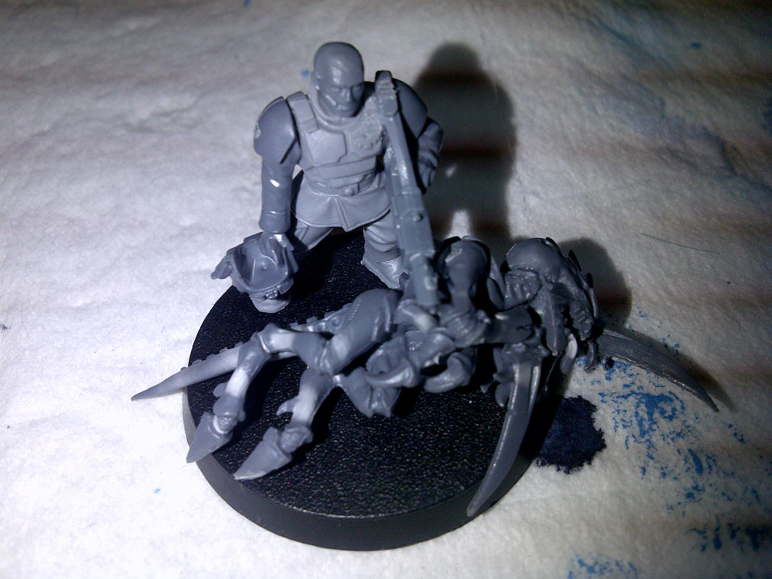 Badass, Competition, Comrade, Diorama, Gaunt, Guard, Hormagaunts, Imperial, Imperial Guard, Mini, Papa, Tyranids