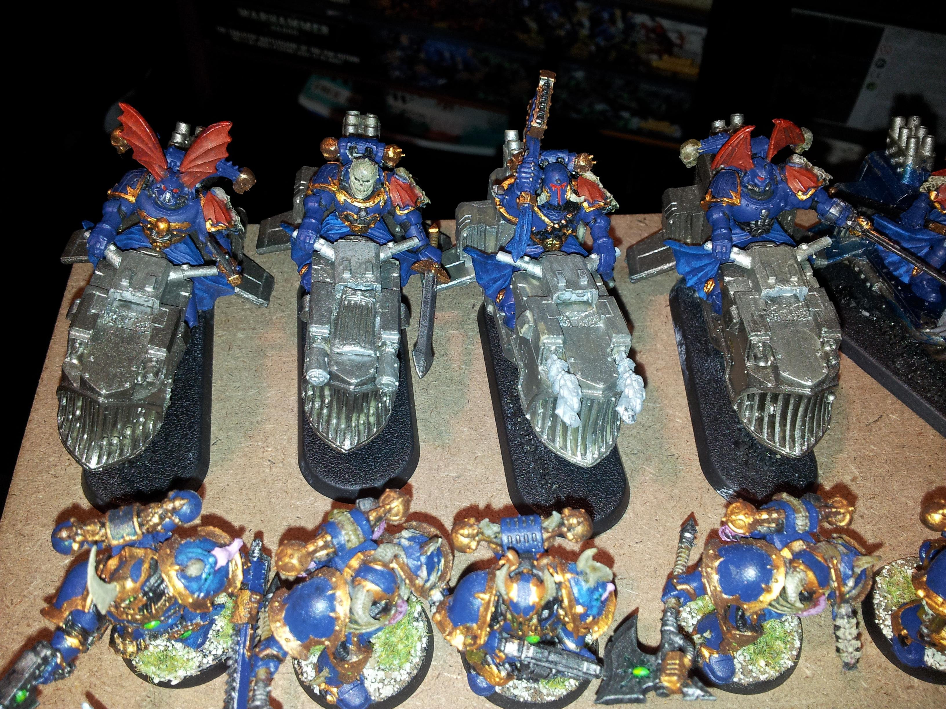 Bike, Chaos Space Marines, Jet Bikes, Night Lords