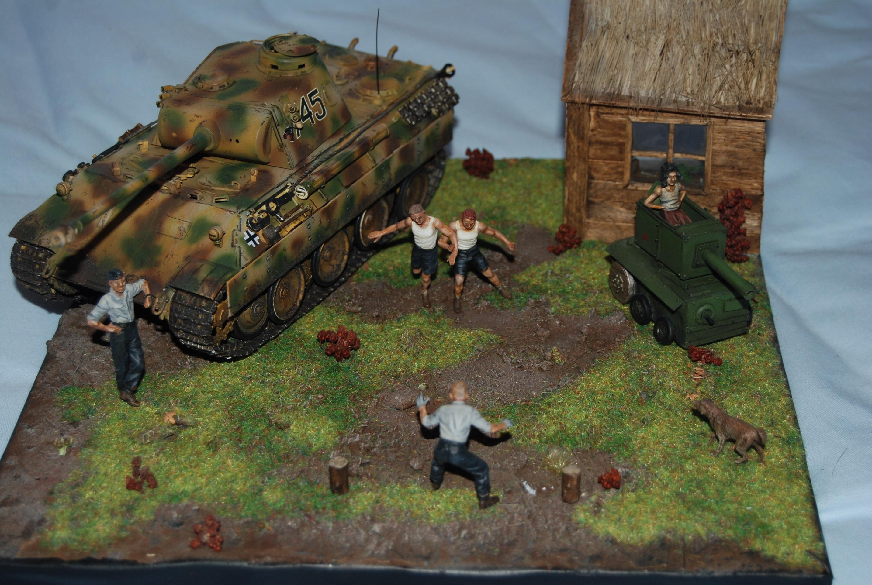 Diorama, Germans, Nazi, World War 2