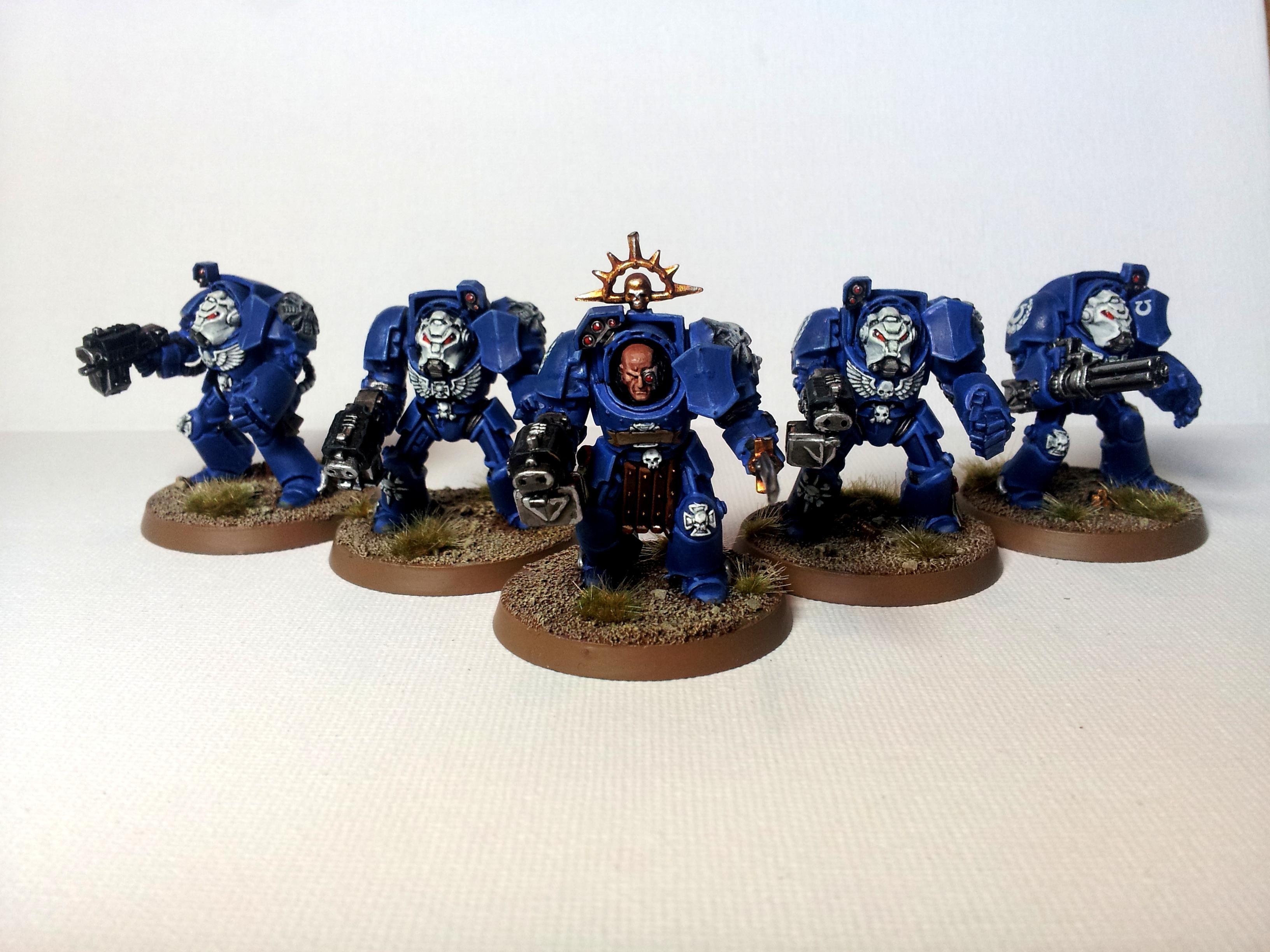 Ultramarines Terminators