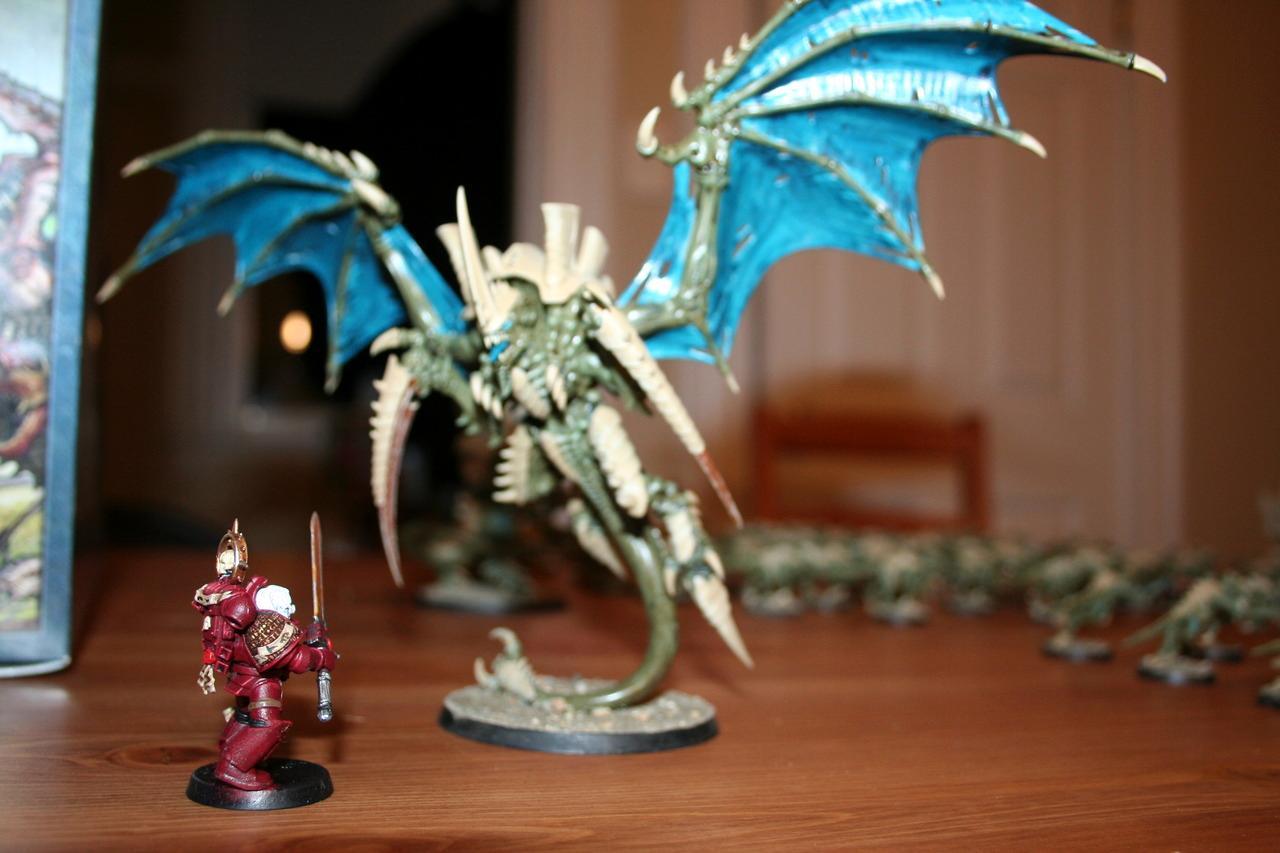 Grey Knights, Tyranids, Warhammer 40,000