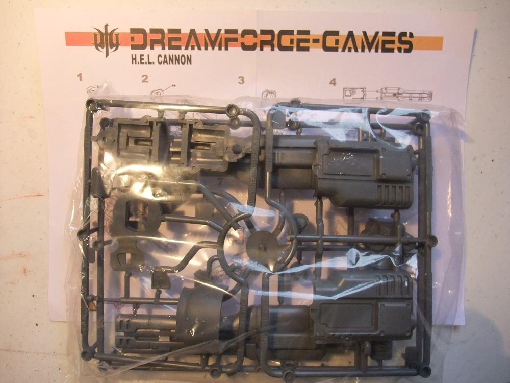 H.E.L Cannon package