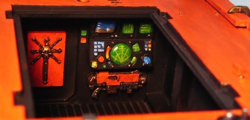 Indoor, Inside, Interior, Radar, Rhino, Tank, Vindicator