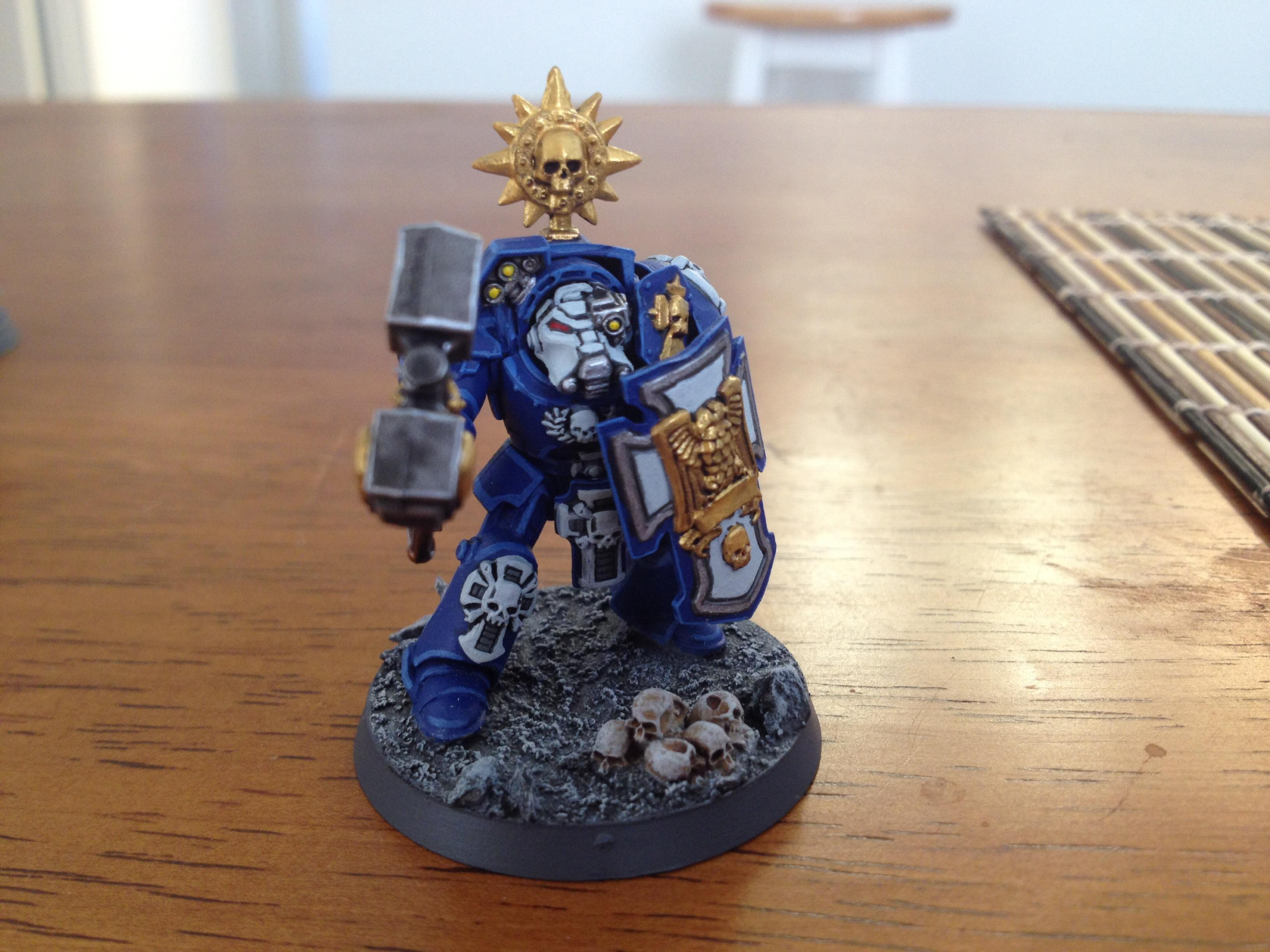 Assault, Terminator Armor, Thunder Hammer, Ultramarines