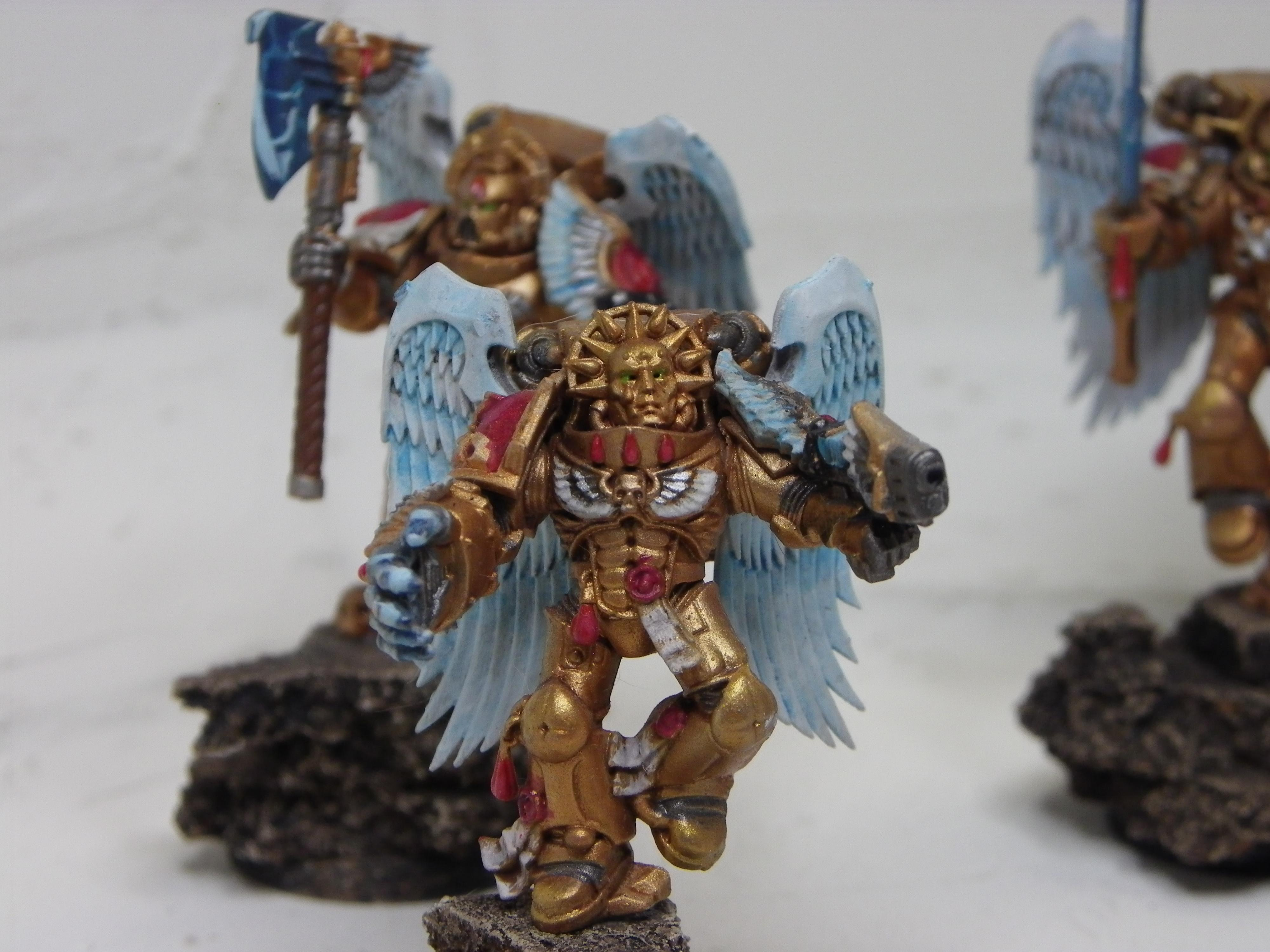 Blood Angels, Captain, Sanguinary Guard, Space Marines