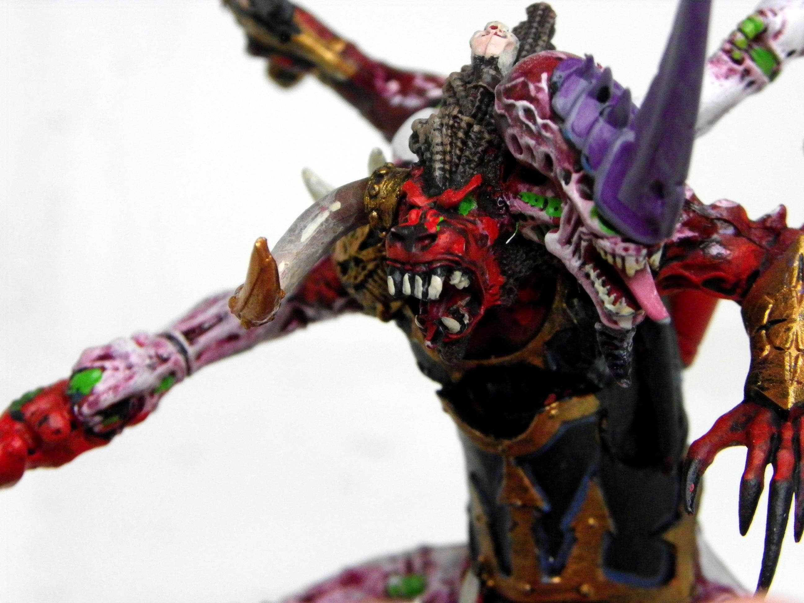 Bloodthirster, Chaos, Greater Daemon, Hive Tyrant, Tyranids, Warhammer 40,000