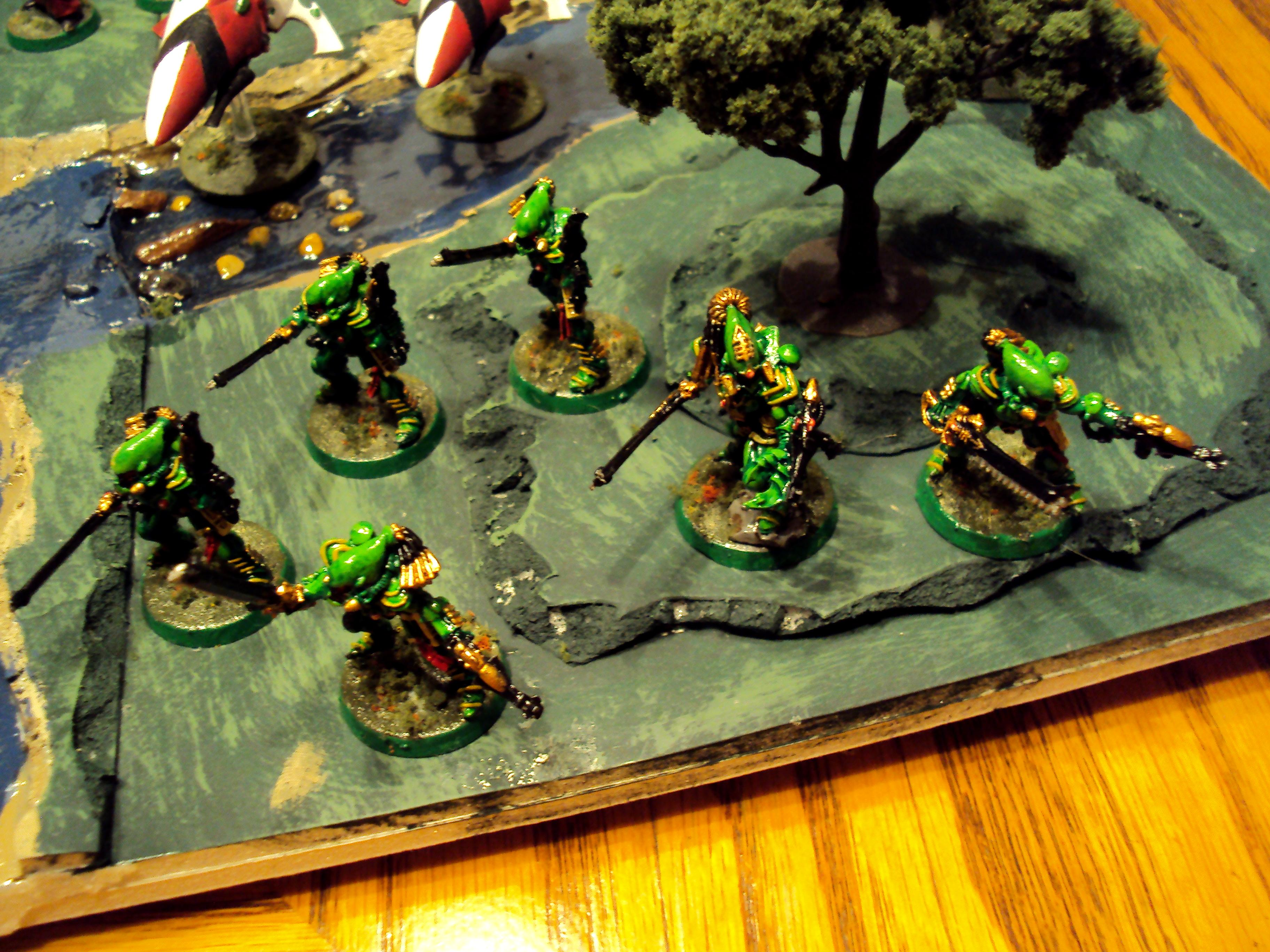 1000 Points, Army, Eldar, Elday, Saim-hann, Terrain